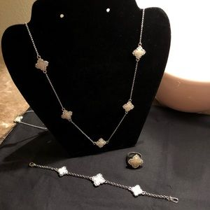 Jewelry - Necklace, Bracelet, and Ring Set